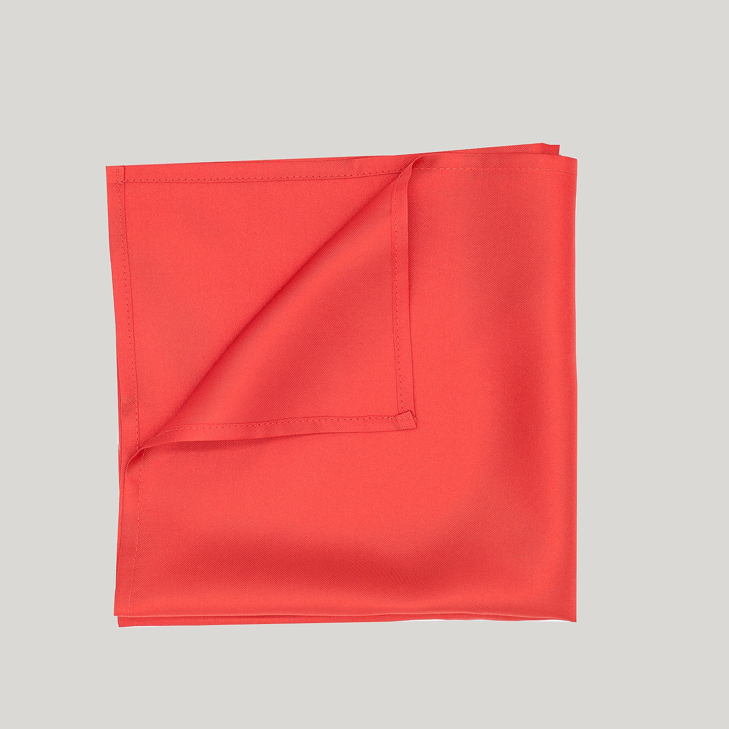 RED PLAIN SILK HANK