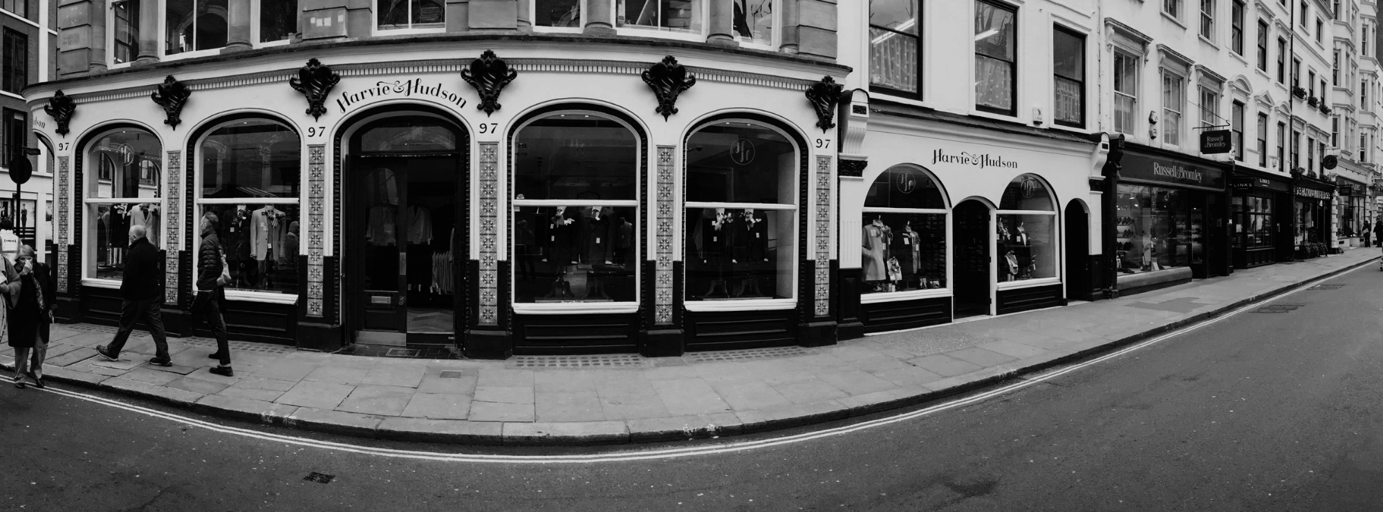Panoramic Shot of 96-97 Jermyn Street
