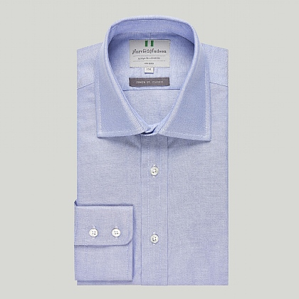 Pale Blue Oxford Button Cuff Classic Shirt