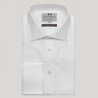 White Royal Oxford Slim Fit Shirt
