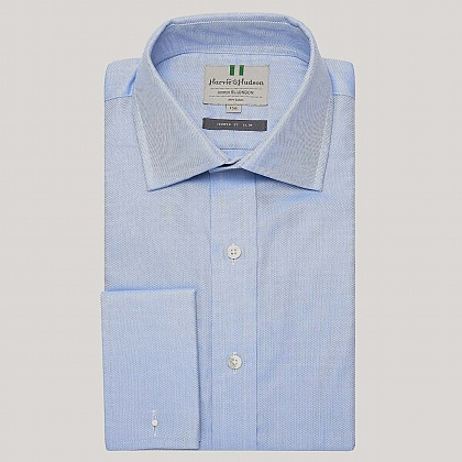 Blue Royal Oxford Poplin Slim Fit Shirt