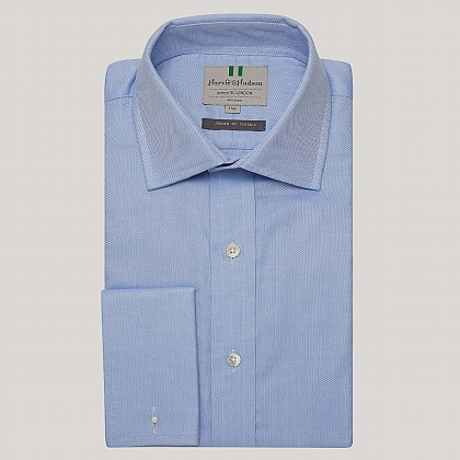 Blue Royal Oxford Double Cuff Shirt