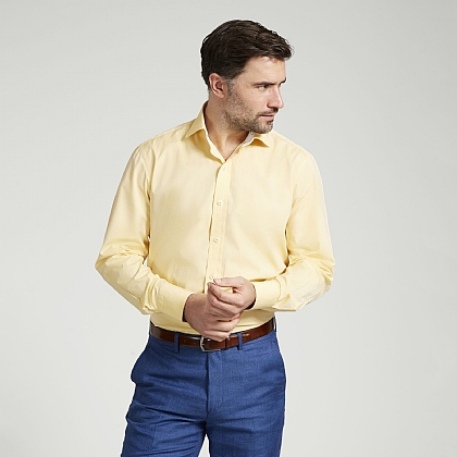 Corn Yellow Lightweight Cottton Shirt