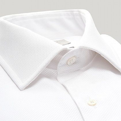White Marcella Slim Fit Dress Shirt