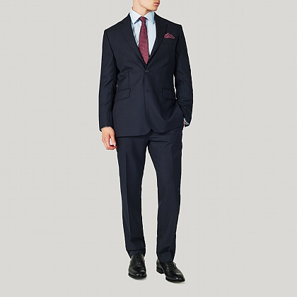 Navy Classic Fit Pic N Pic Suit