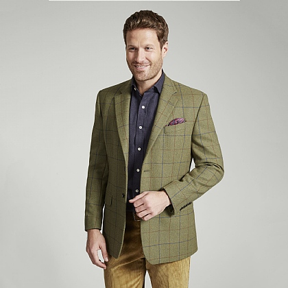 Sage and Blue Tweed Jacket