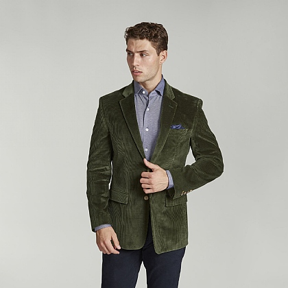 Bottle Green Corduroy Jacket