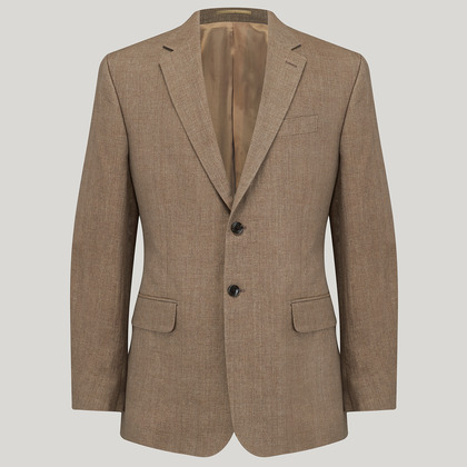 Biscuit Mix and Match Linen Jacket