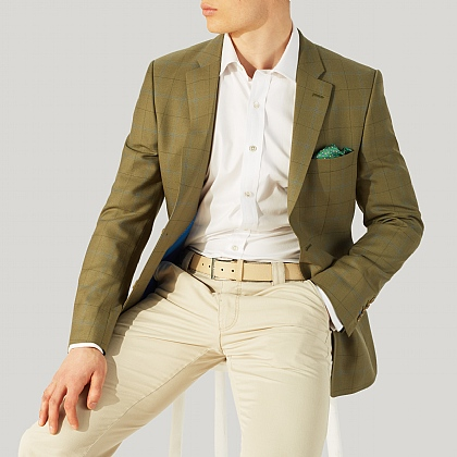Green Check Sports Jacket