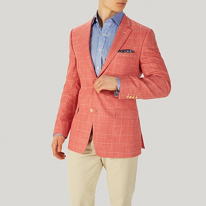 Salmon Check Jacket