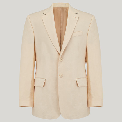 Buttermilk Mix and Match Linen Jacket