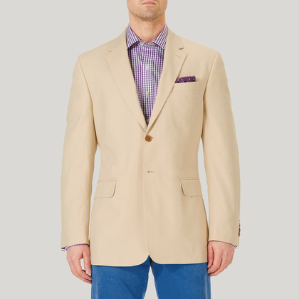 Beige Mix and Match Cotton Jacket