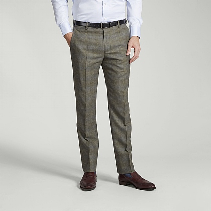Lovat Green Tweed Trousers