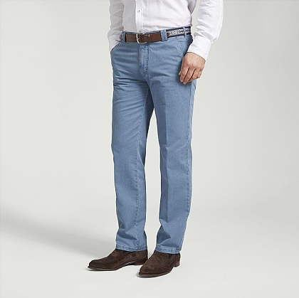 Blue Meyer Cotton Classic Trouser