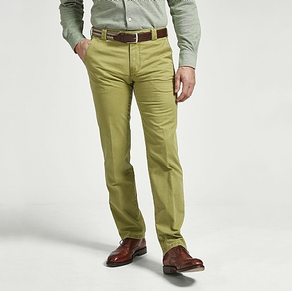 Green Meyer Cotton Classic Trouser