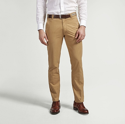 Sand Meyer Cotton Classic Trouser