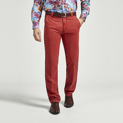 Red Meyer Cotton Classic Trouser