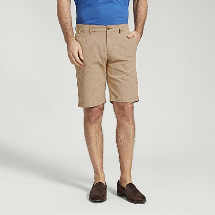 Sand Cotton Casual Short