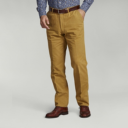 Mustard Yellow Cotton Trouser
