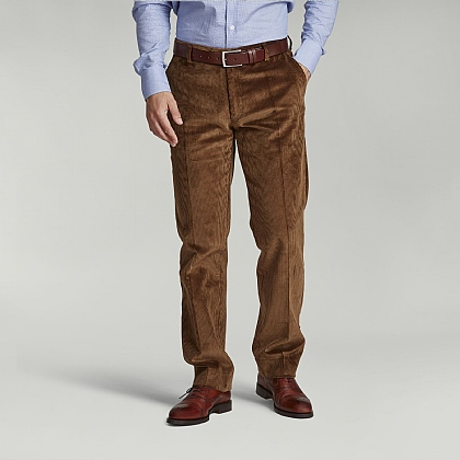 Tan Brown English Cord Trouser