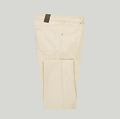 Stone Meyer Cotton 5 Pocket Trouser