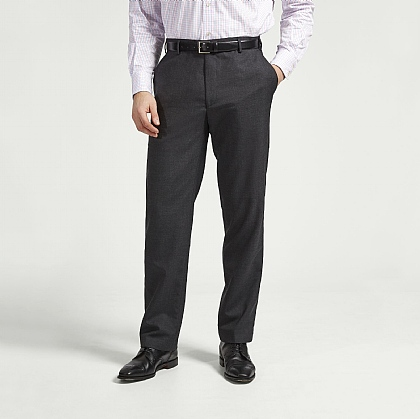 Grey Lightweight Gaberdine Trouser