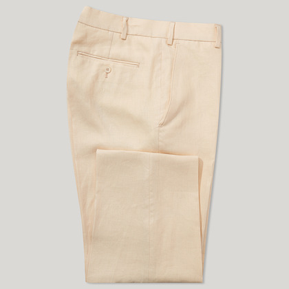Buttermilk Mix and Match Linen Trouser