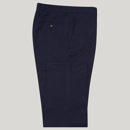 Navy Mix and Match Cotton Trouser