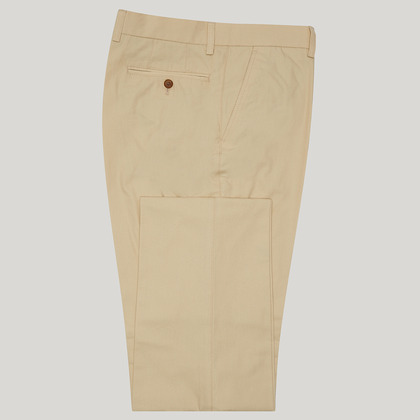 Beige Mix and Match Cotton Trouser