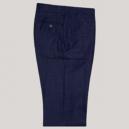 Blue Mix and Match Cotton Trouser