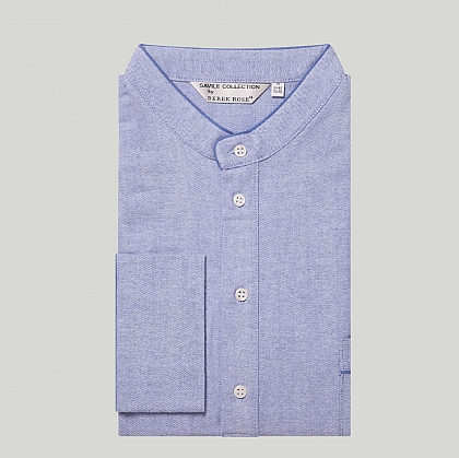 Blue Brushed Cotton Nightshirt