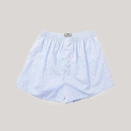 White Paisley Essential Boxer Shorts