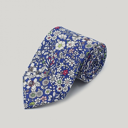 Liberty Print Junes Meadow Cotton Tie