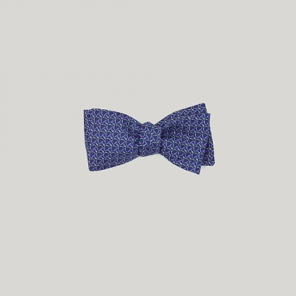 Blue and Sky Stirrup Bow