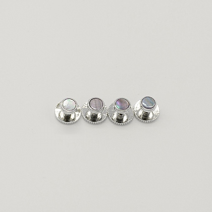 Mother of Pearl Dress Studs Set of 4
