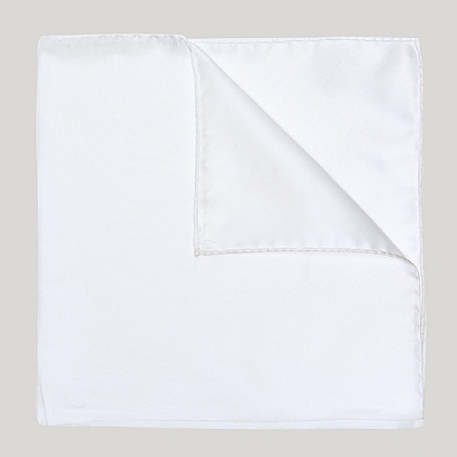 White Essential Woven 100% Silk Hank