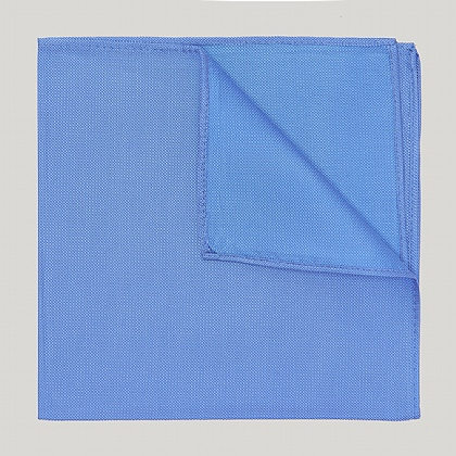 Blue Plain Essental Woven 100% Silk Hank