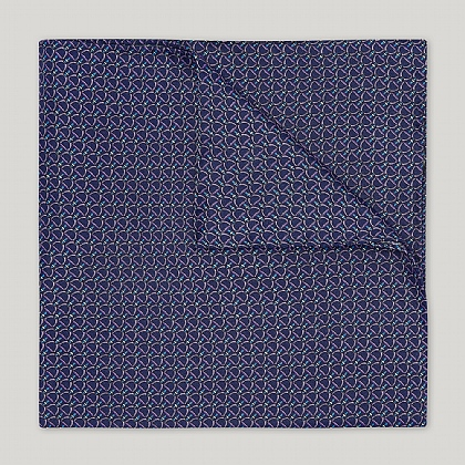 Blue and Sky Stirrup Handkerchief